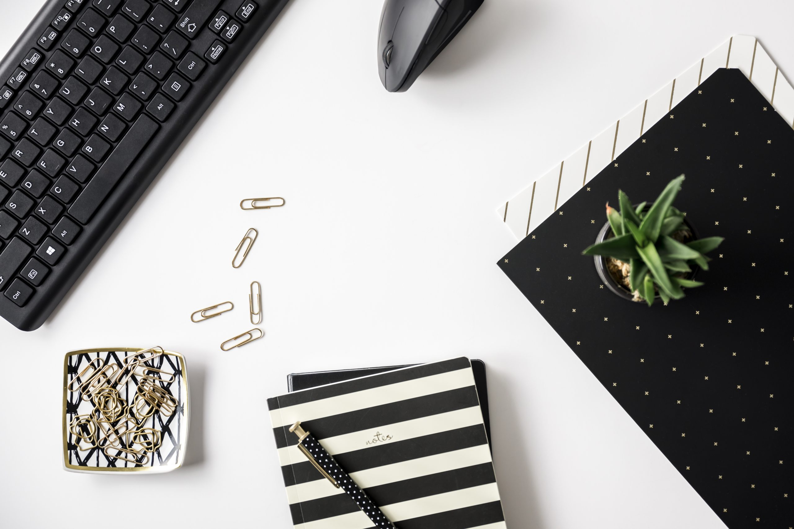 black and gold office stock photos-4